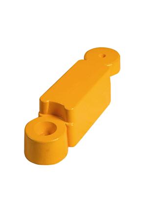 Obrubník žltý